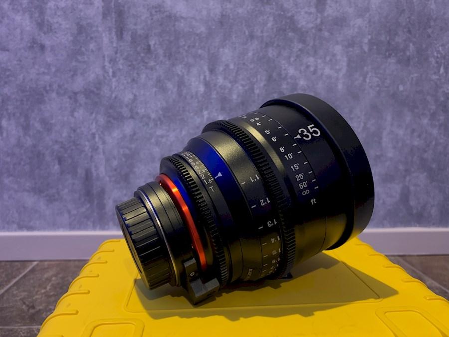 Huur een Xeen 35mm T1.5 (Canon EF) in Ermelo van EMIEL DEKKER PRODUCTIES