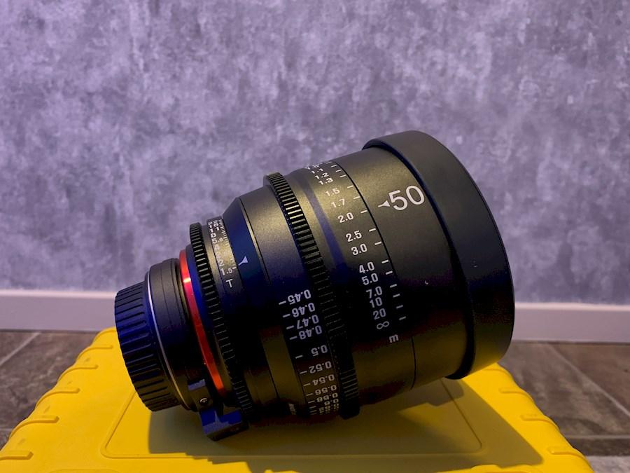 Huur een Xeen 50mm T1.5 (Canon EF) in Ermelo van EMIEL DEKKER PRODUCTIES