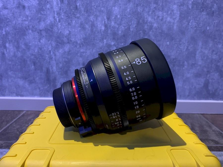 Rent Xeen 85mm T1.5 (Canon EF) from EMIEL DEKKER PRODUCTIES