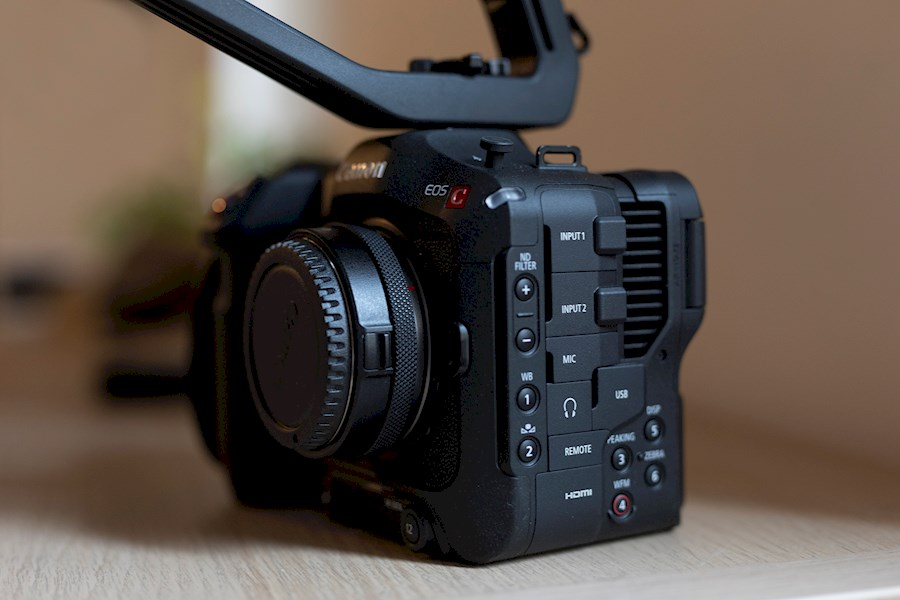 Rent a Canon C70 + RF 24-105 in Anderlecht from Thomas