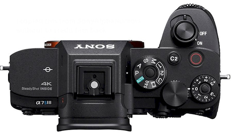 Rent Sony A7sIII from Vince