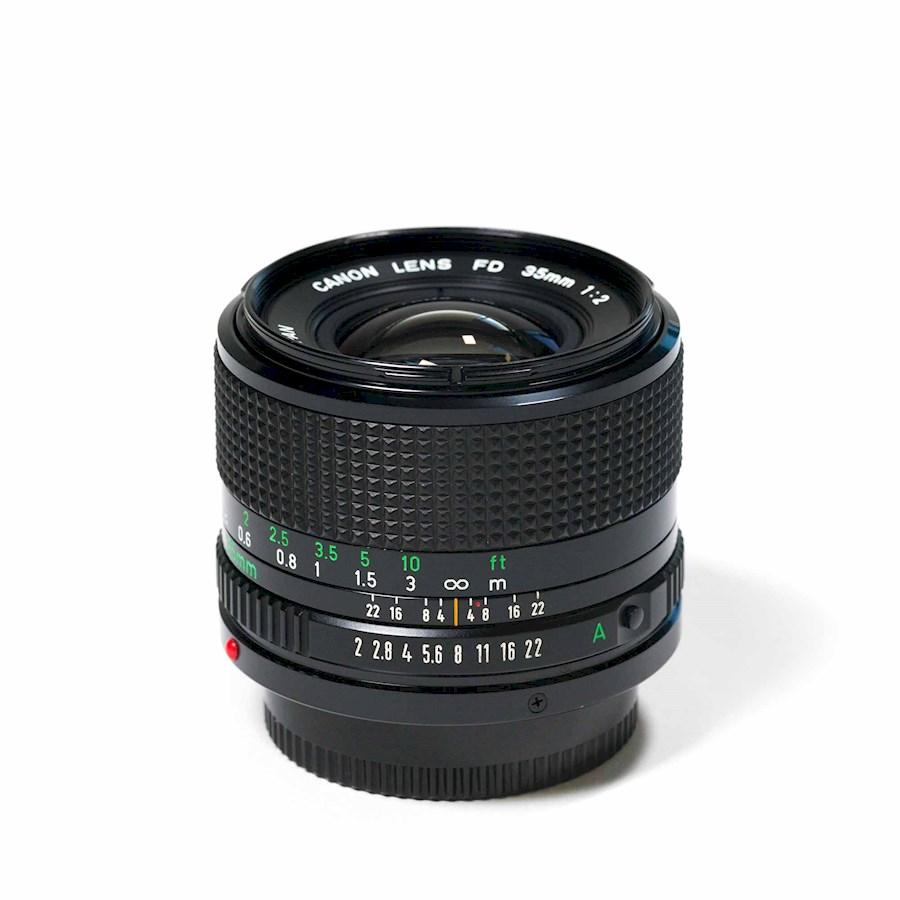 Huur Canon FD 35mm/f2.0 - F... van Bram