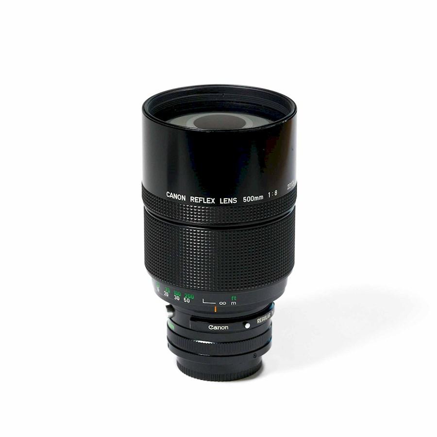 Huur Canon FD 500mm/f8.0 - ... van Bram