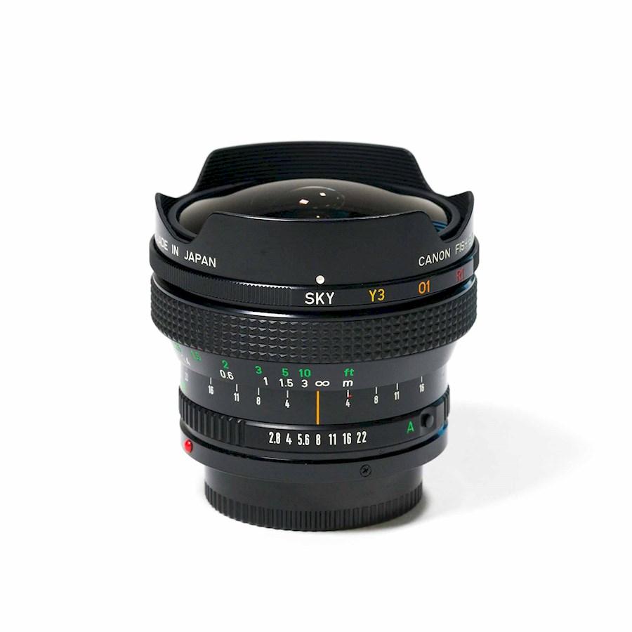 Huur Canon FD 15mm/f2.8 - F... van Bram