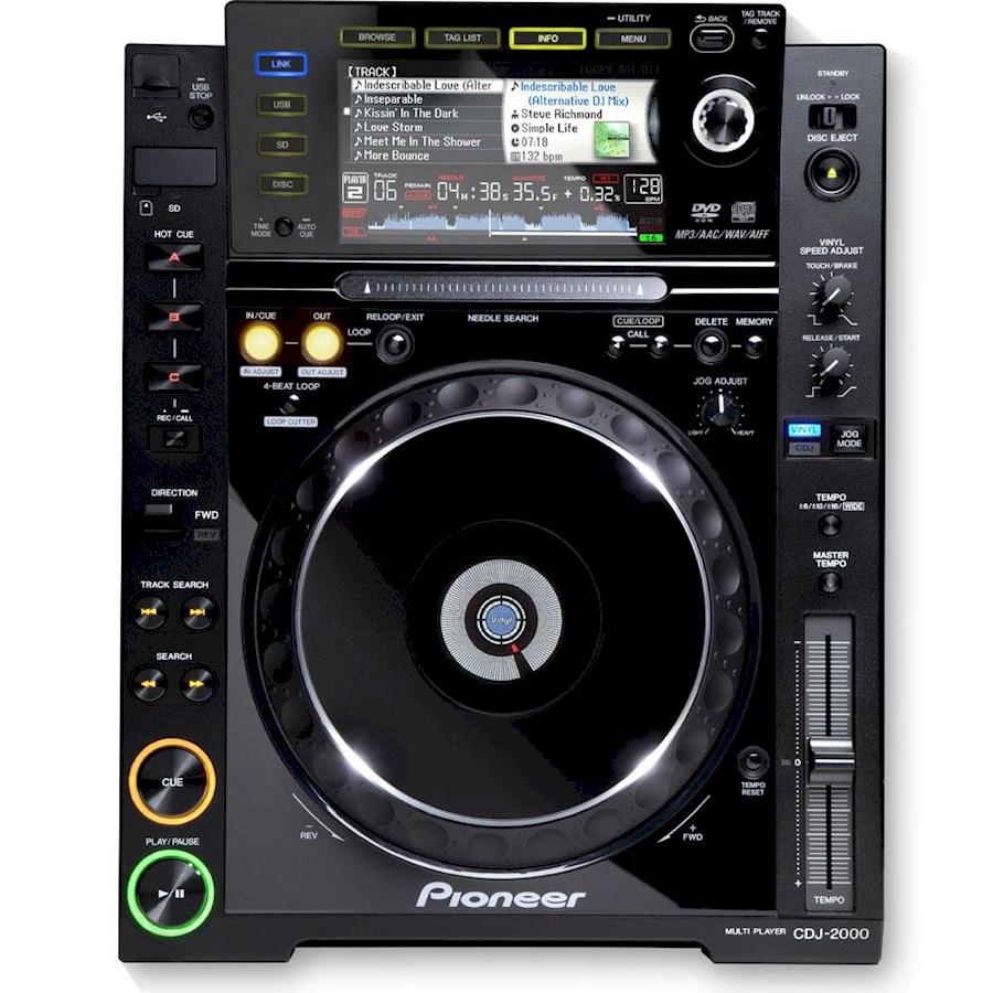 Rent Pioneer CDJ-2000 from Arthur