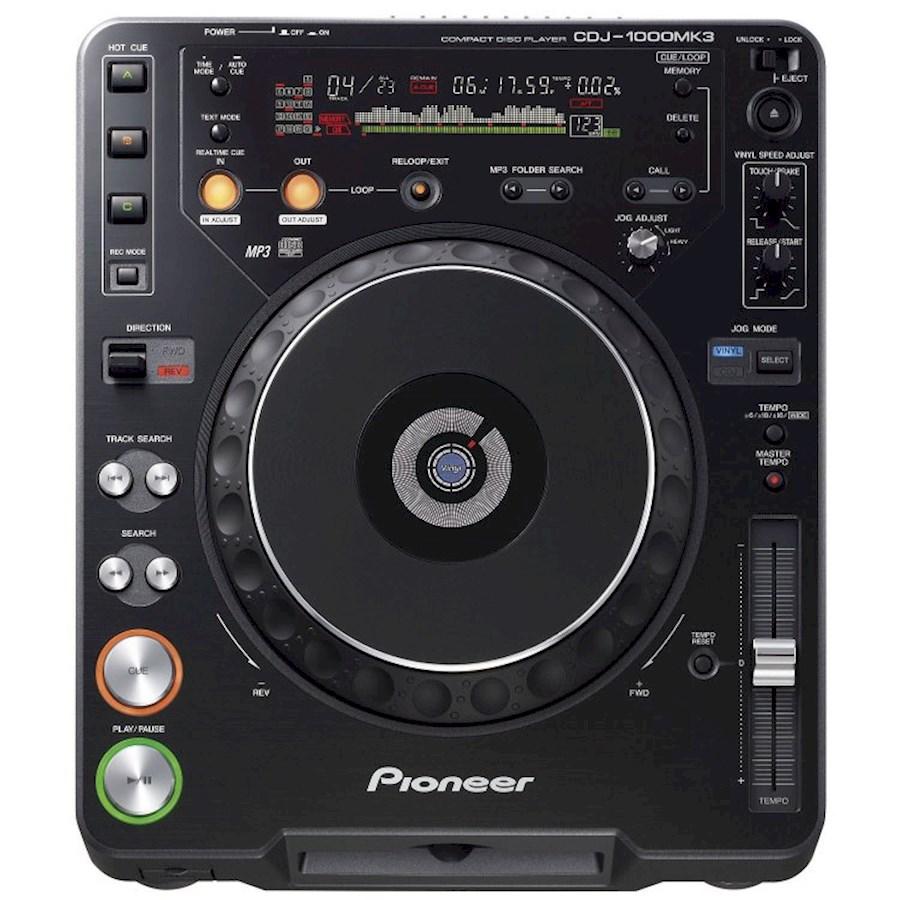 Rent Pioneer CDJ1000MK3 CD/... from Leon