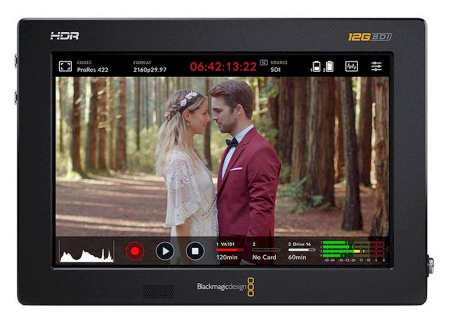 """Rent a Blackmagic VIDEO ASSIST 7"""" 12G HDR in Breda from ZOOM EVENEMENTEN & MEDIA PRODUCTIES"""