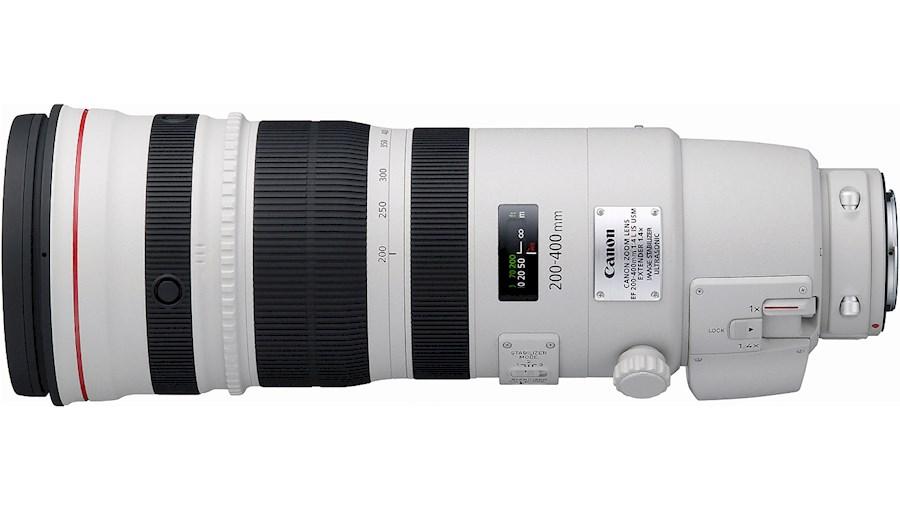 Huur Canon EF 200-400mm f/4... van CAMERALAND B.V.