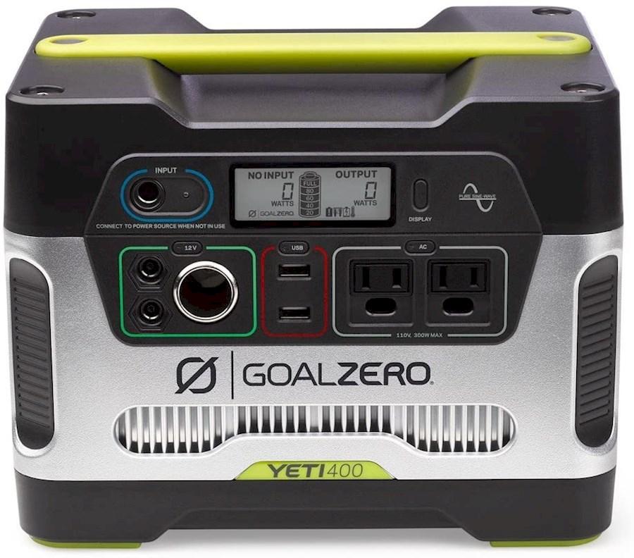 Rent a Goal Zero Yeti 400 (loodzuur batterij/generator) in Tielt from Bram