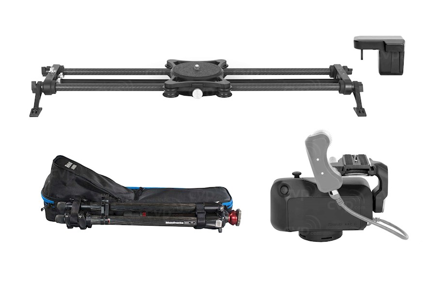 Rent a Rhino Motorised slider with ARC II in Nijmegen from FACEMAGIC PRODUCTIONS