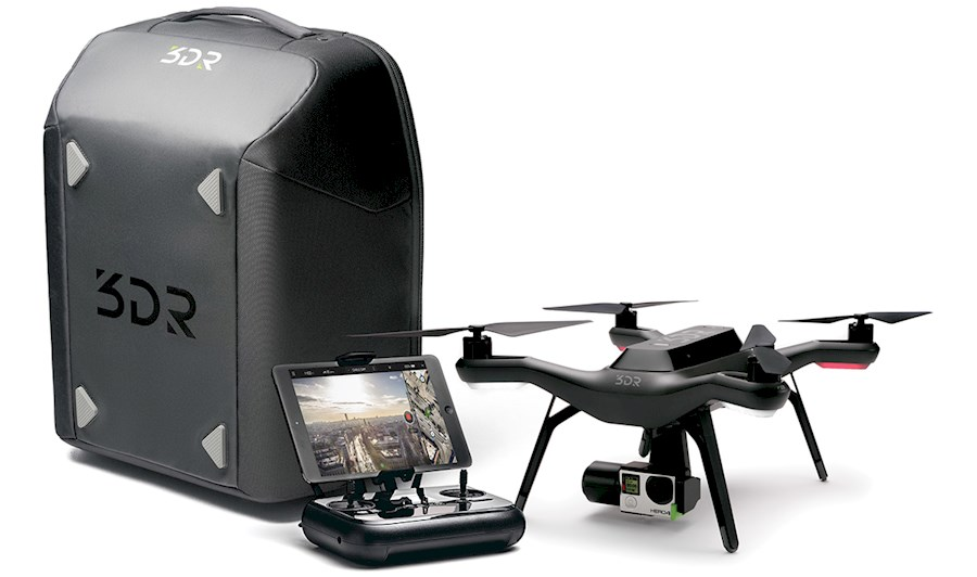 Rent a 3DR Solo incl GoPro gimbal in Achterveld from Mika