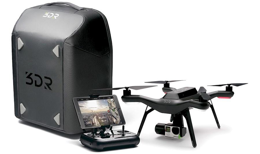 Rent a 3DR Solo Flir warmtebeelddrone 640 in Achterveld from Mika