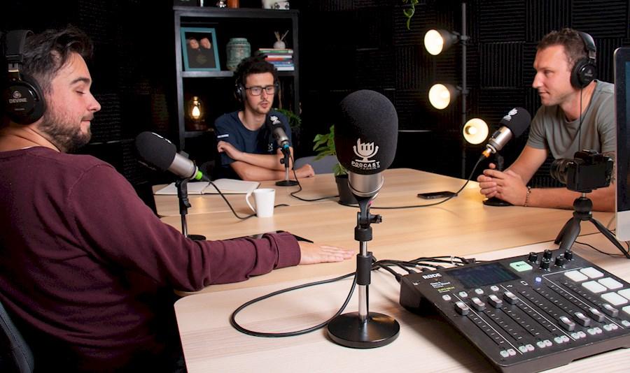 Louez Podcast Studio de PODCAST OP LOCATIE
