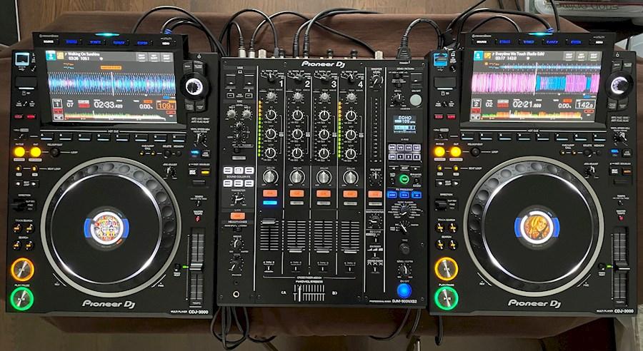 Huur 2x Pioneer CDJ-3000 + ... van Sven