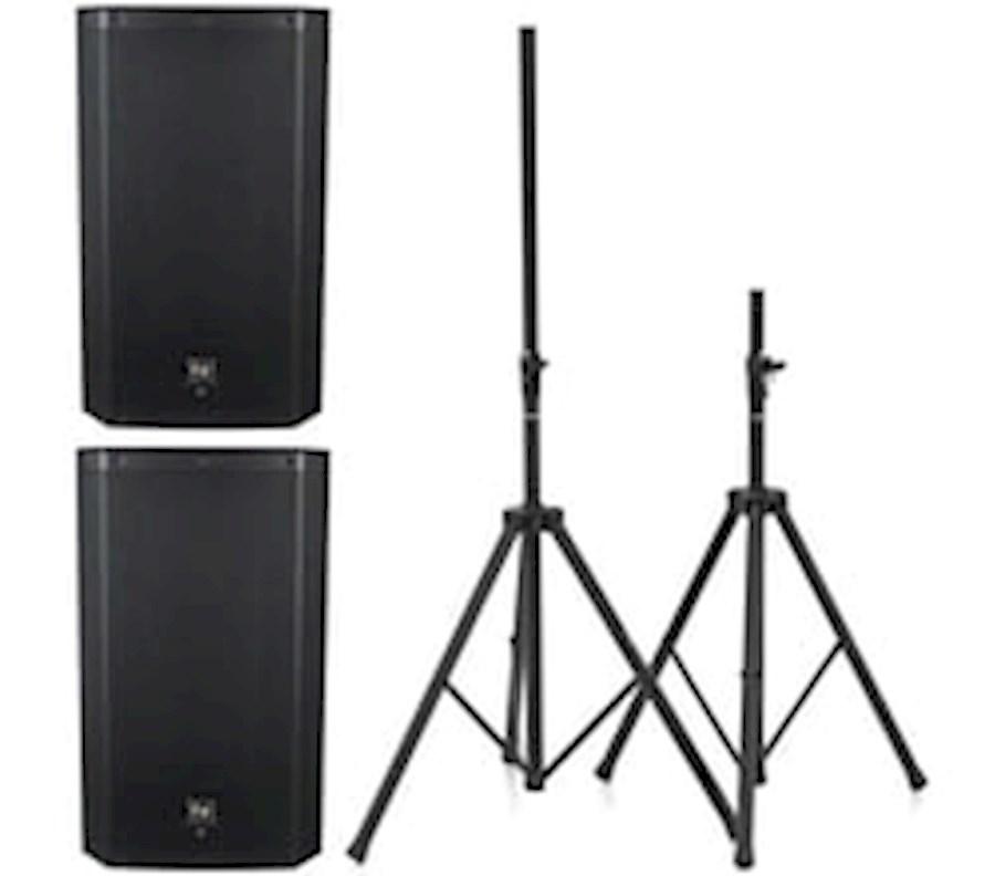 Rent Speakerset EV ELX 112P from Barbaros