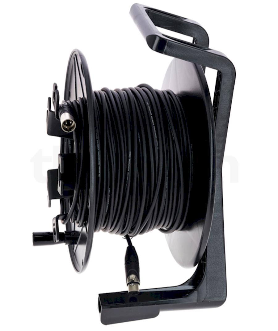 Huur XLR kabel 50 meter (rol) van Vic