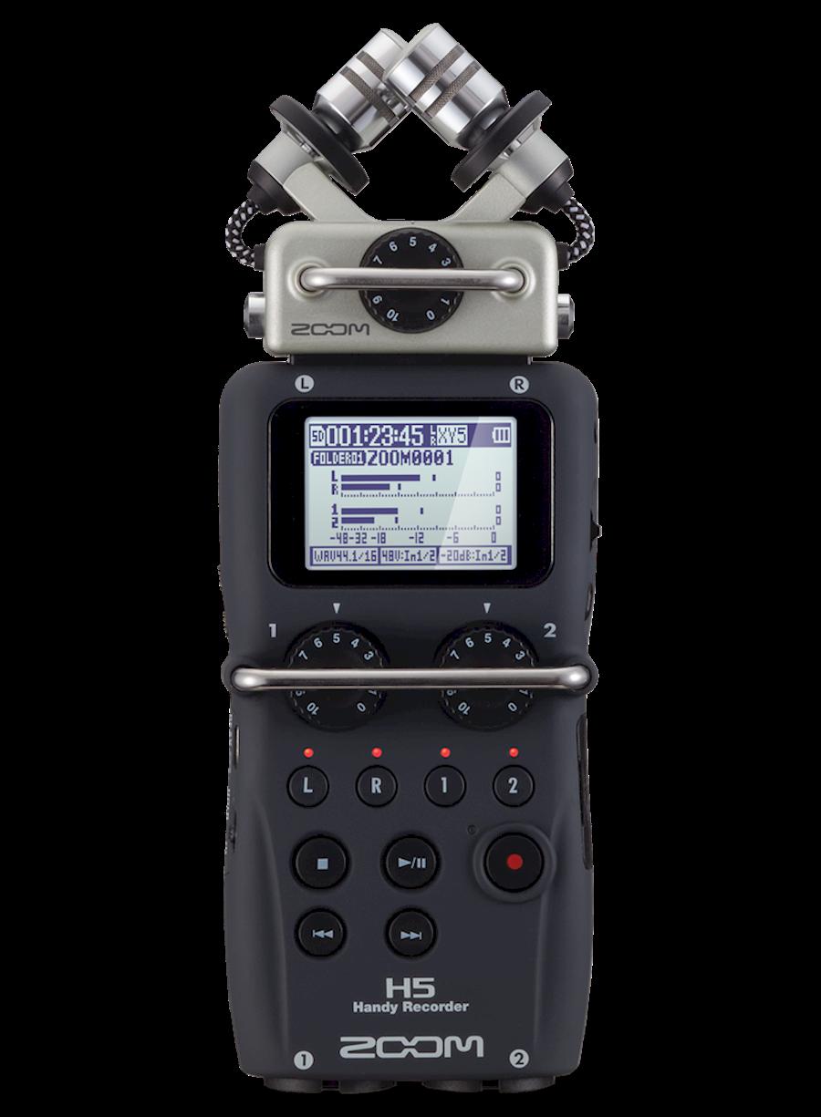 Huur Zoom H5 + EXH-6 + acce... van Cypers, Wouter